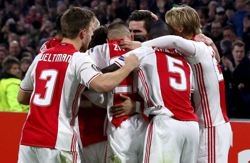 Ajax vs Lyon 4-1